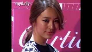Yoon Eun Hye 윤은혜- 「Cartier Tank Watch」 Opening 20120712 [COMPLETE]