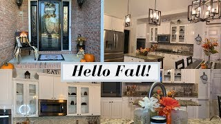 VERY FIRST FALL HOME TOUR 2019| INEXPENSIVE FALL DECOR
