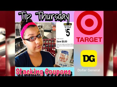 Couponing 101/ Stacking Coupons/ Learn How To Coupon/ Target & Dollar General