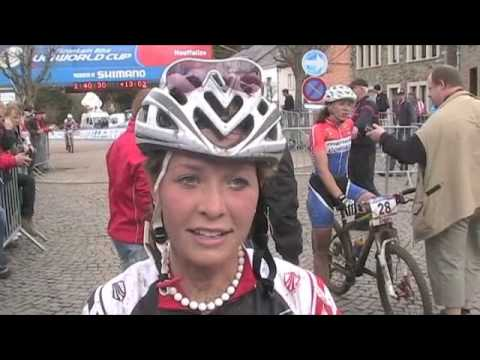 2010 Houffalize World Cup - Emily Batty Interview