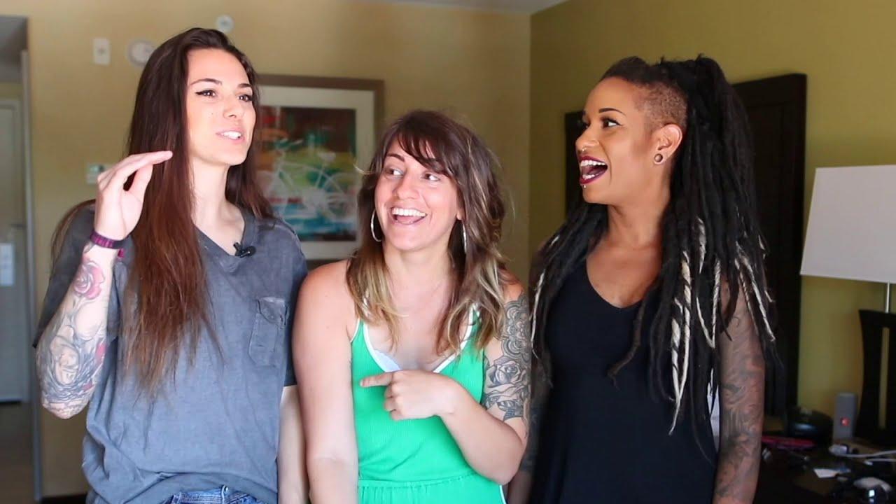 Sinn Sage Lesbian Threesome