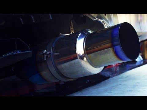 Tomei Expreme Ti Titanium vs Nameless Muffler Delete Sound & Install Subaru WRX 2015+