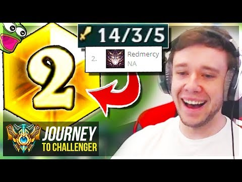 WAIT.. I'M RANK 2 ON THIS CHAMPION????? - Journey To Challenger | League of Legends