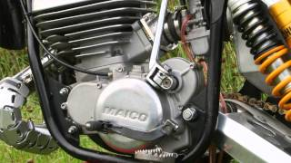 The Maico Only 250 S1 Twinshock Motocross Bike