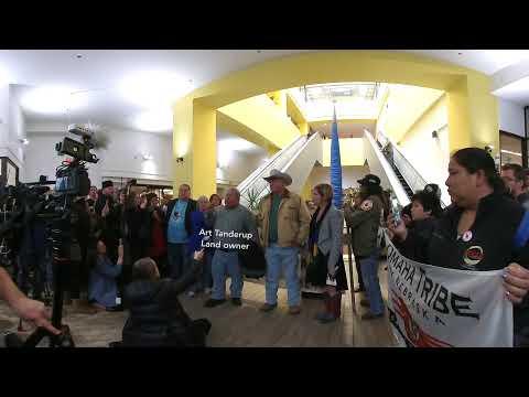 Inside Nebraska's controversial Keystone XL pipeline hearing