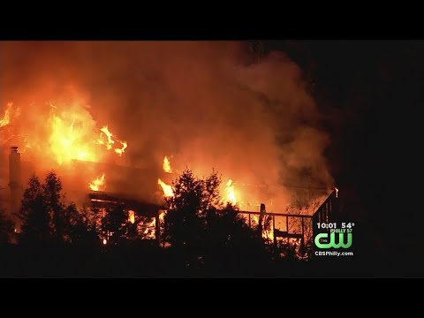 At Least 2 Injured In Burlington County House Fire
