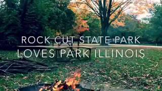 Rock cut state park, camping in Illinois On the road with ulcerative colitis