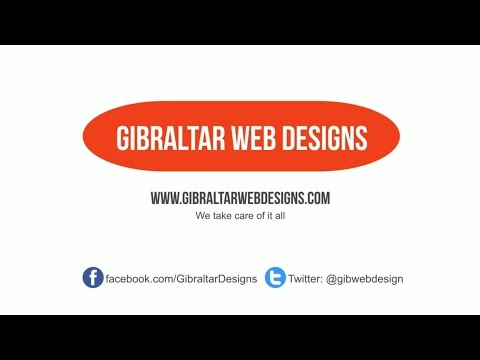 Gibraltar Web Designs Social Media Agency
