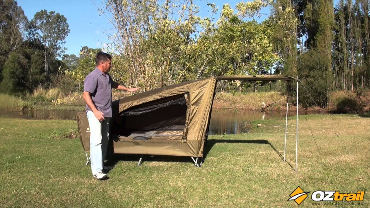 OZtrail Easy Fold Tent Stretcher & OZtrail Easy Fold Tent Stretcher - YouTube