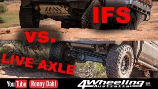 IFS vs LIVE AXLE, Off-road