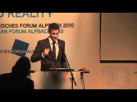 Simon Rutar at European Forum Alpbach