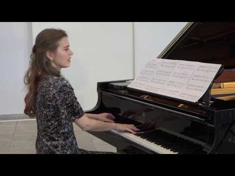 Anna Sutyagina plays Prelude by Cameron Speirs