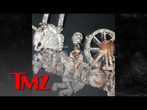 Travis Scott Drops $450,000 For His Astroworld Set Design in Diamonds | TMZ