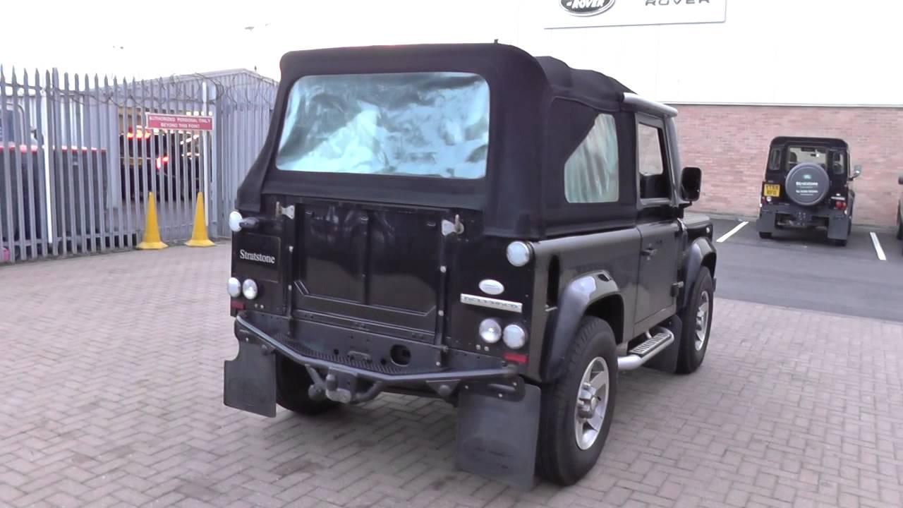 land rover defender svx soft top tdci u9307 youtube. Black Bedroom Furniture Sets. Home Design Ideas