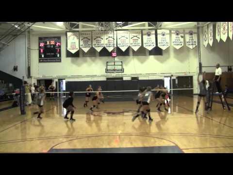 Chaminade University Volleyball vs Dominican Sept 2015