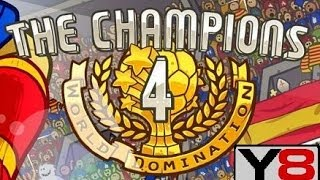 the champions 4 world domination y8 game to play