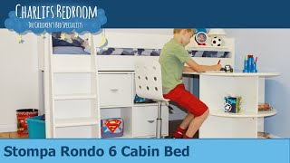 Stompa Rondo 6 Cabin Bed - Charlies Bedroom