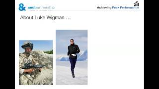 Introduction to the Achieving Peak Performance programme