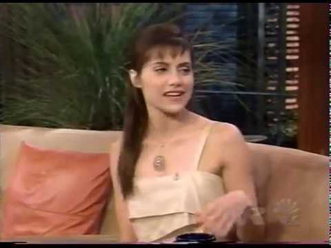 BRITTANY MURPHY has FUN with LENO  R.I.P.