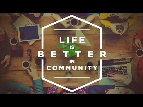 Life Is Better In Community: Why Bother To Connect? | Brian Stone | 9.20.15