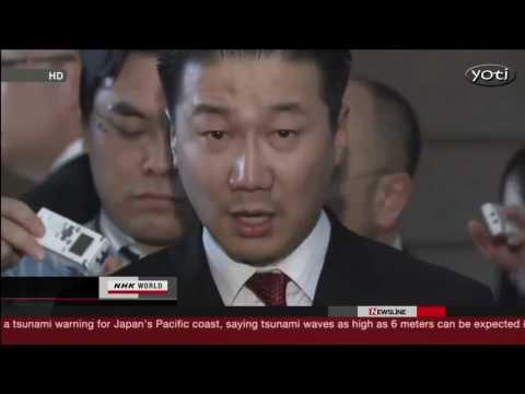 Dramatic Aerial footage from Japan Tsunami 2011
