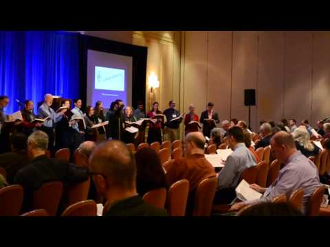 Music Library Association 2014 Atlanta: Plenary I - Sacred Harp Singing (Fuging Tune)
