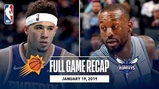 Full Game Recap: Suns vs Hornets | Kemba Leads CHA
