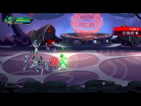 Mighty Morphin Power Rangers: Mega Battle: Rita's Tower floor 1-14 (green ranger)