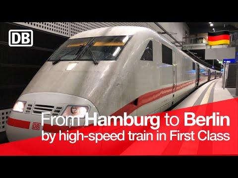TRAIN TRIP REPORT   ICE 1 Intercity Express (1ST CLASS)   Hamburg Hbf 🇩🇪 - Berlin Hbf 🇩🇪