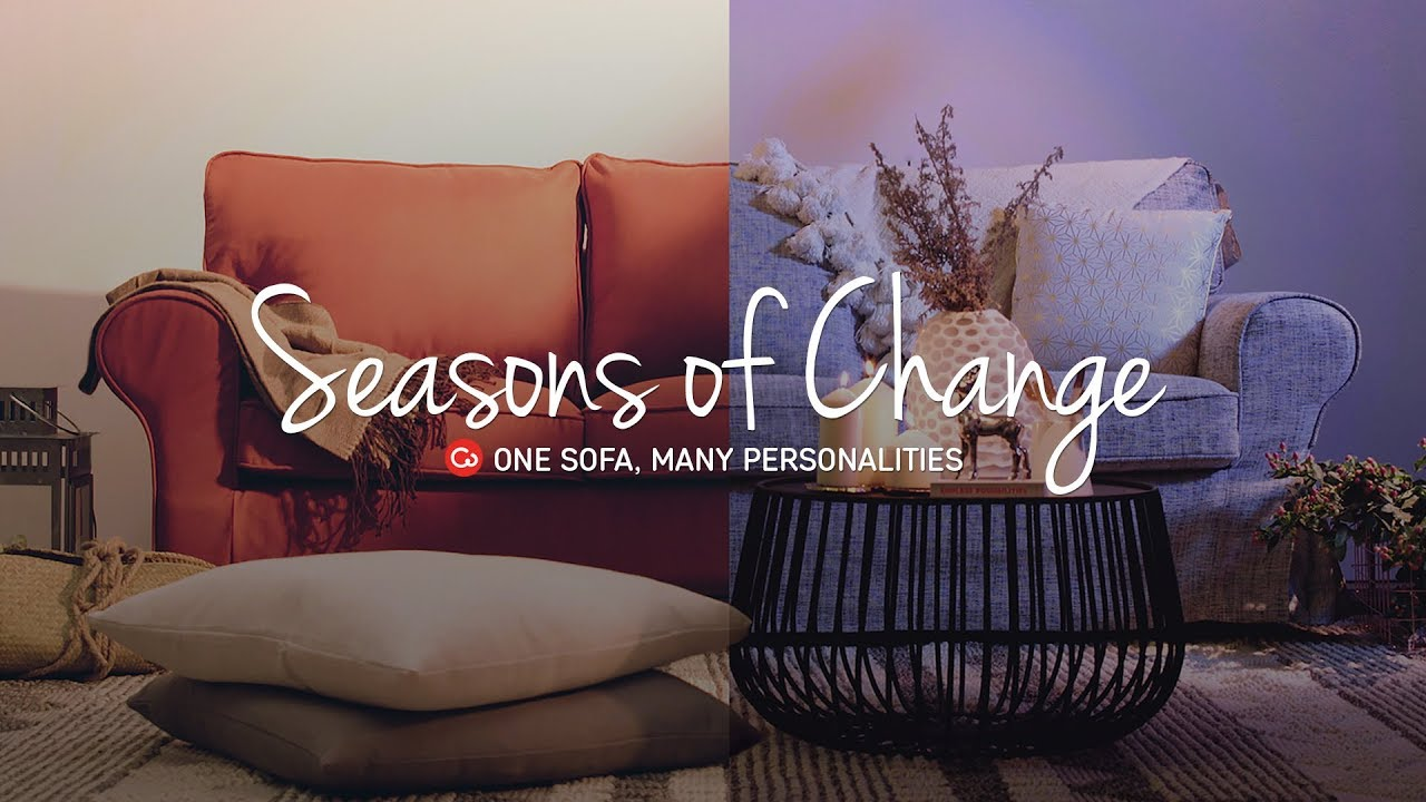 Dressing Your Sofa For The Seasons | Comfort Works Sofa Covers