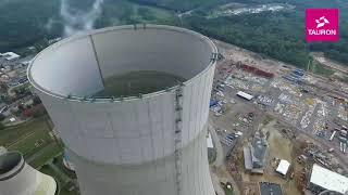 Budowa bloku węglowego 910 MW w Jaworznie - sierpień 2017