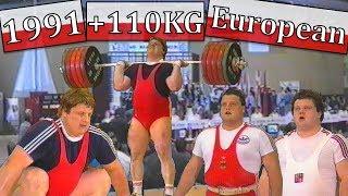 +110KG | 1991 | European Weightlifting Championship (Władysławowo, POL)