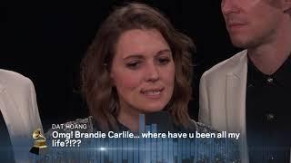 Brandi Carlile One-On-One Interview | 2019 GRAMMYs