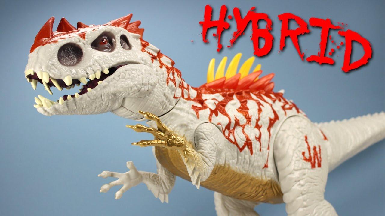 Jurassic World Dino Hybrid Indominus Rex Spike Reveal Jaws FX Toy
