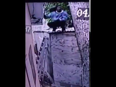 Intruder caught on camera
