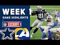 Cowboys vs. Rams Week 1 Highlights   NFL 2020