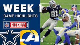 Cowboys vs. Rams Week 1 Highlights | NFL 2020