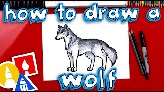 How To Draw A Realistic Wolf