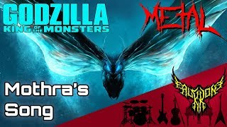 Godzilla: King of the Monsters - Mothra's Song 【Intense Symphonic Metal Cover】