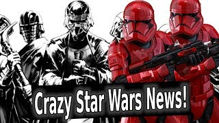 Star Wars SDCC 2019 Breakdown! The Rise of Kylo Ren, Sith Troopers, & Tie Daggers!!