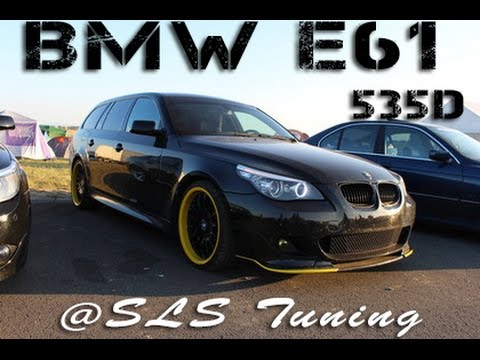 bmw e61 535d pr fstand sls tuning 356 7ps 719nm youtube. Black Bedroom Furniture Sets. Home Design Ideas