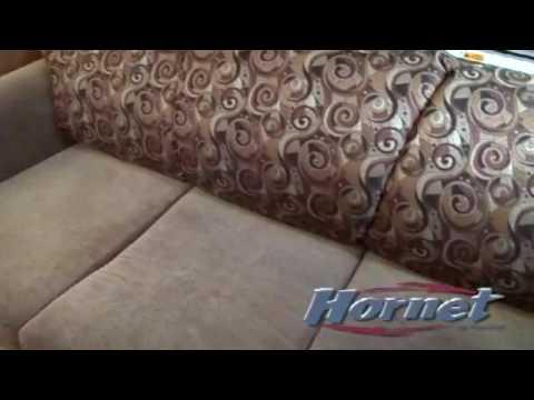 air mattress for rv sleeper sofa sectionals bed keystone hornet youtube