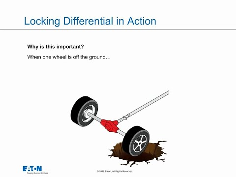 What is a locking differential