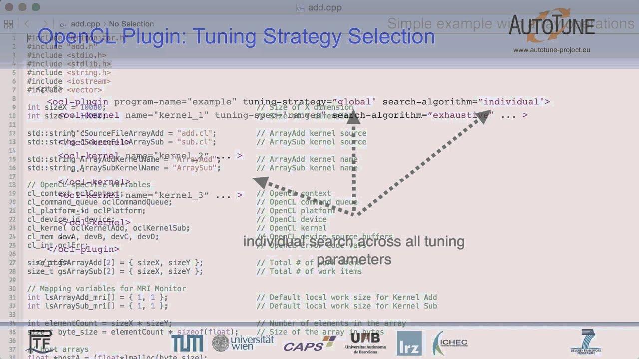 Tuning NDRange settings of OpenCL kernels