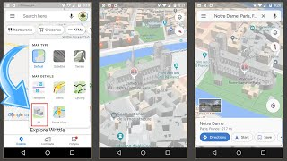 3D in Google Maps Default View on Mobile screenshot 3