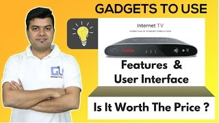 Airtel Internet TV All Features, Connectivity, Android Version, 4K Streaming, User Interface Tour