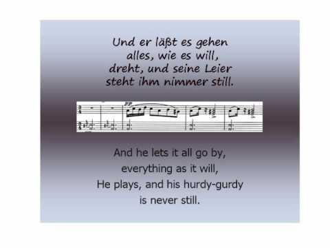 Schubert - Winterreise - Der Leiermann  - Barry McDaniel & Aribert Reimann