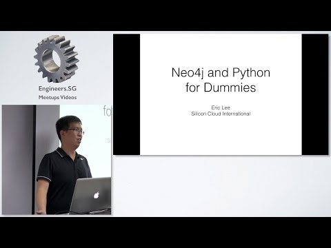 Tutorial: Neo4j and Python for Dummies - PyData Singapore