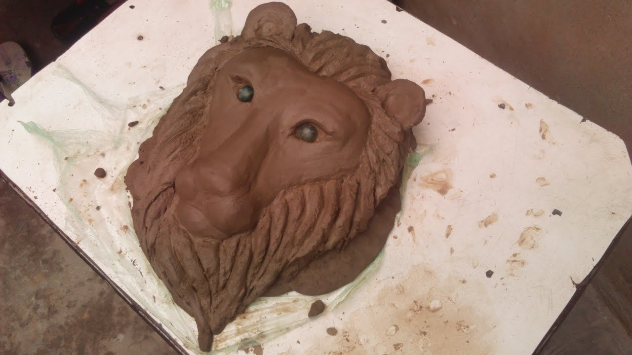 How to Make Clay Lion