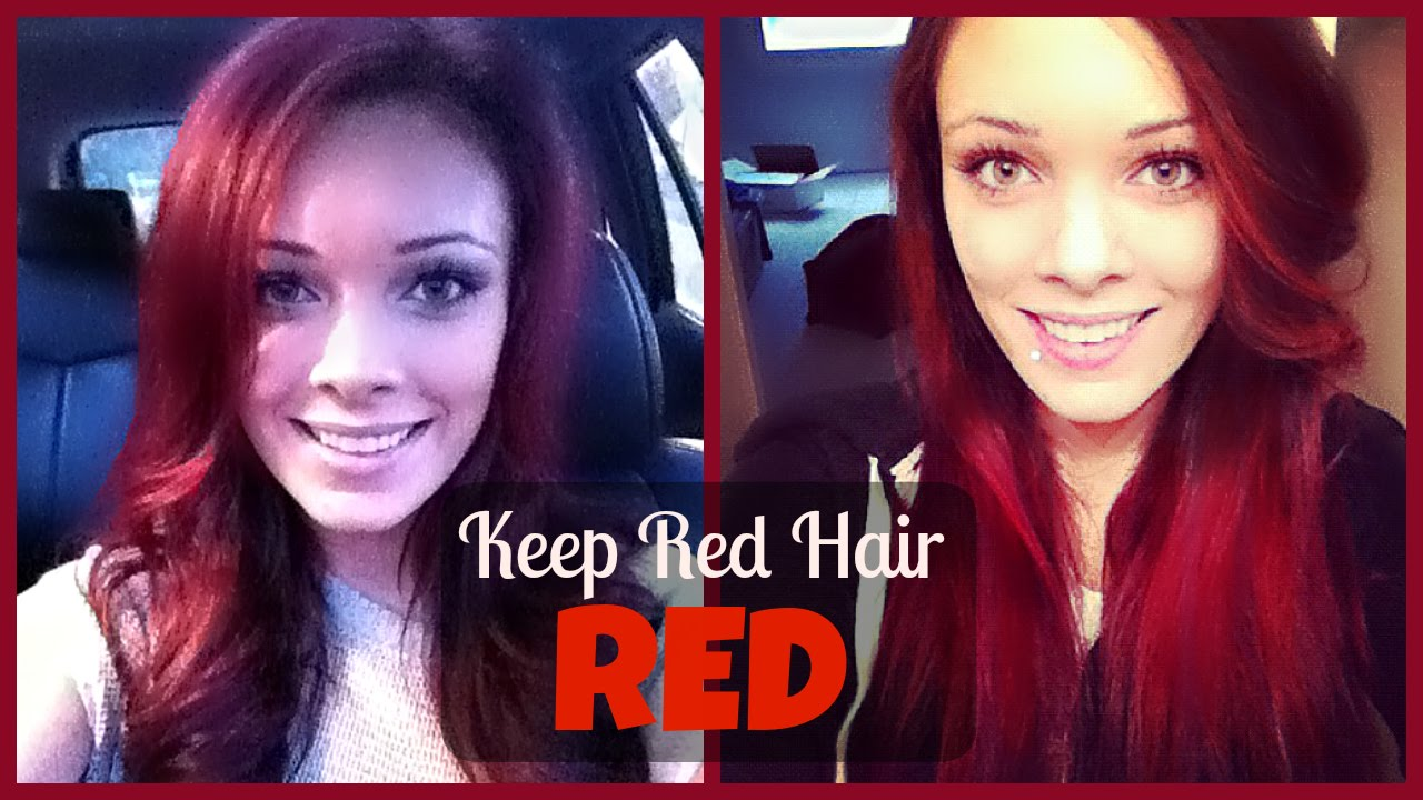 How To Keep Red Hair Red Youtube